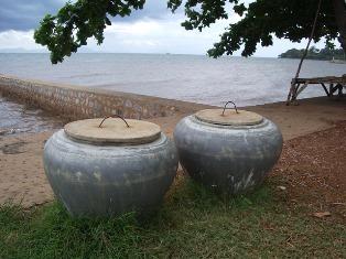 Jarres pour l'eau de pluie